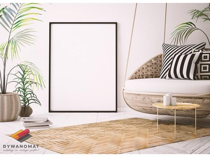Modny winylowy dywan Wiklinowa tekstura Dywany 80x120 cm 60x90 cm Kategoria Dywany