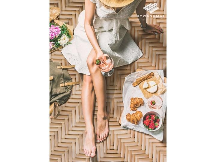 Modny winylowy dywan Wiklinowa tekstura 60x90 cm Pomieszczenie Salon 80x120 cm Dywany Kategoria Dywany