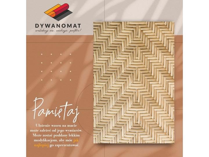 Modny winylowy dywan Wiklinowa tekstura 60x90 cm 80x120 cm Dywany Pomieszczenie Salon