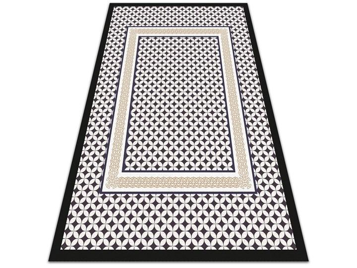 Modny dywan winylowy Geometryczny warkocz