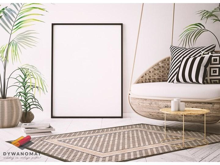 Modny dywan winylowy Geometryczny warkocz 80x120 cm Pomieszczenie Salon Dywany 60x90 cm Pomieszczenie Sypialnia