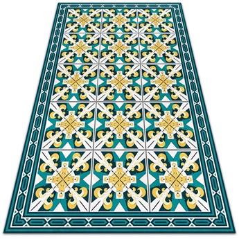 Modny winylowy dywan Geometryczne romby