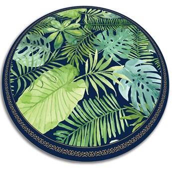 Modny uniwersalny dywan winylowy tropikalne liście