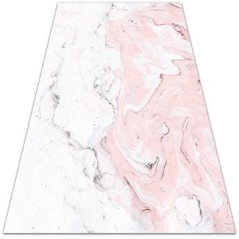 Uniwersalny dywan winylowy Biało-różowy marmur