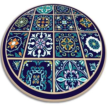 Modny dywan winylowy portugalskie kafelki
