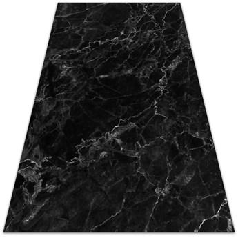 Wewnętrzny dywan winylowy Czarny marmur