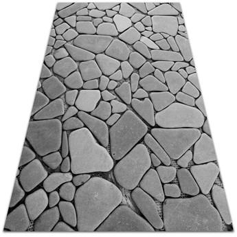 Wewnętrzny dywan winylowy Duże kamienie