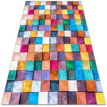 Uniwersalny dywan winylowy Drewniane kosteczki