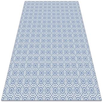 Modny dywan winylowy Powtarzalne kółeczka