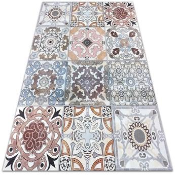 Modny winylowy dywan Portugalskie kafle