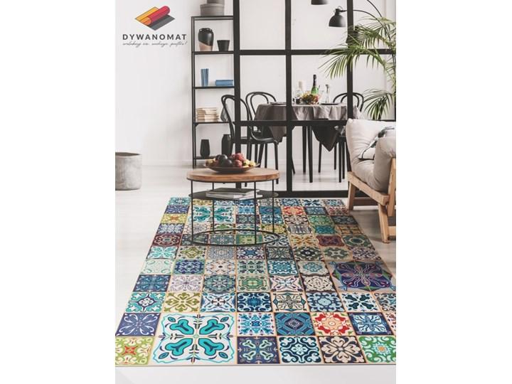 Modny uniwersalny dywan winylowy Portugalski wzór Pomieszczenie Sypialnia 60x90 cm Dywany 80x120 cm Pomieszczenie Przedpokój