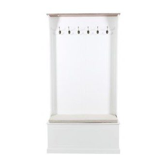 Kubek Neo Barock 12x11 cm biało-czarny