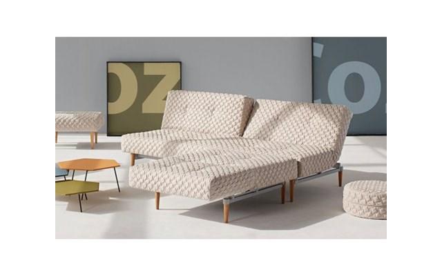 Innovation Istyle Fiftynine Coz Sofa Rozkładana Sand Coz Tkanina