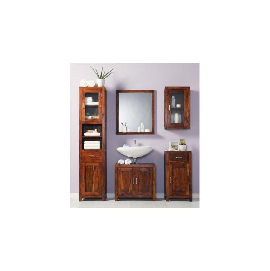 wolf m bel guru szafka azienkowa 2 drzwiowa drewno. Black Bedroom Furniture Sets. Home Design Ideas