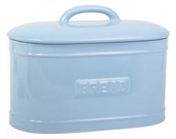 Ceramiczny pojemnik na chleb blue