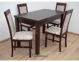 zestaw stół S-22 80x140 do 180 lub 195 cm + 4 krzesła Nilo VI