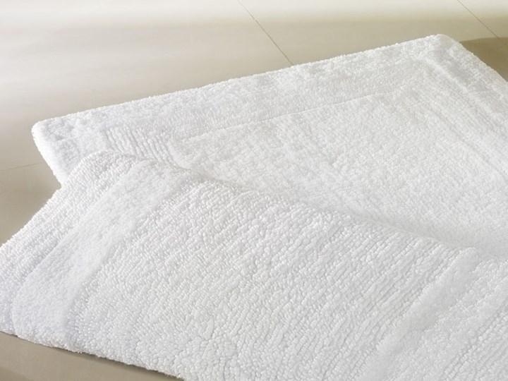 Dywanik Cawo Luxus Basic White Bawełna 70x120 cm 60x100 cm 60x60 cm Prostokątny