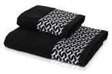Ręcznik Move Black&White Kontrast Black