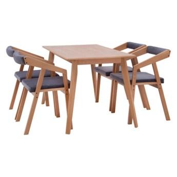 Komplet stół i krzesła LEON       Salony Agata