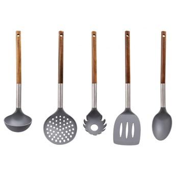 HUSLA 5-elementowy zestaw nylonowych przyborów kuchennych