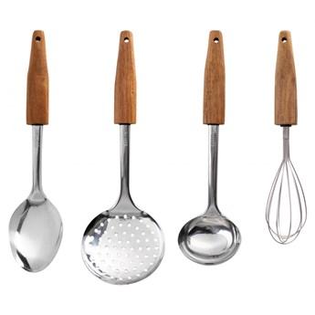 HUSLA 4-elementowy zestaw przyborów kuchennych
