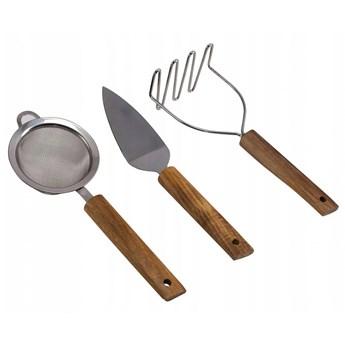 HUSLA 3-elementowy zestaw akcesoriów kuchennych