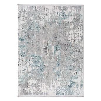 Niebiesko-szary dywan Universal Riad Abstract, 140x200 cm