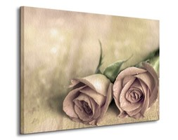 Samotne róże - Obraz na płótnie