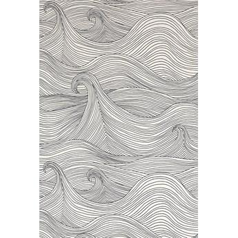 Tapeta Abigail Edwards Seascape Winter biała fale
