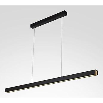 Lampa wisząca LINEAR  100cm czarna 4k Altavola Design