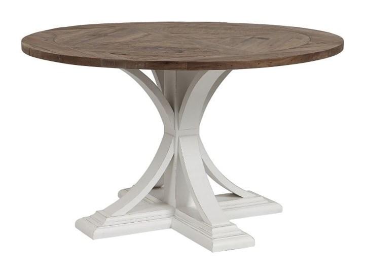 Venitiennes Stół okrągły Płyta MDF Drewno Kategoria Stoły kuchenne Rozkładanie