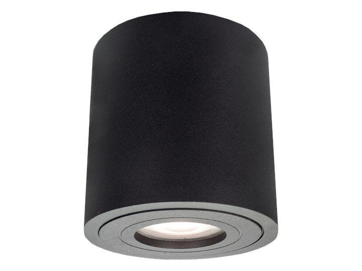 Lampa Faro XL oprawa natynkowa czarna IP65 Oprawa stropowa Kolor Czarny Kategoria Oprawy oświetleniowe