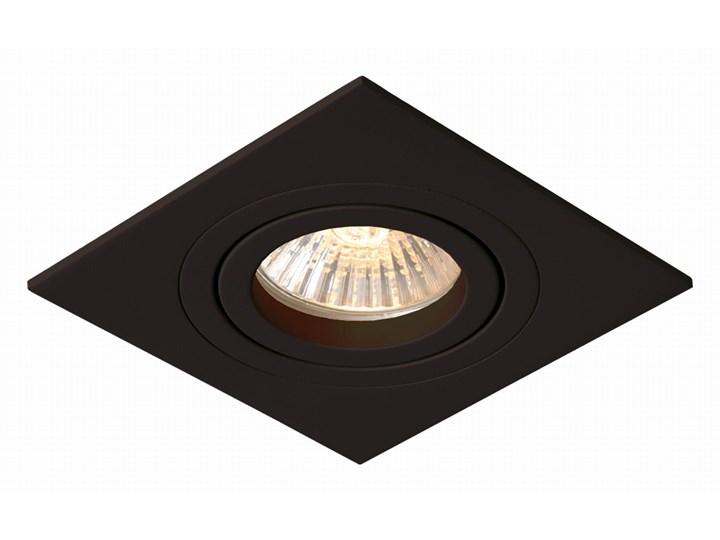 Lampa Metis 1 podtynkowa czarna