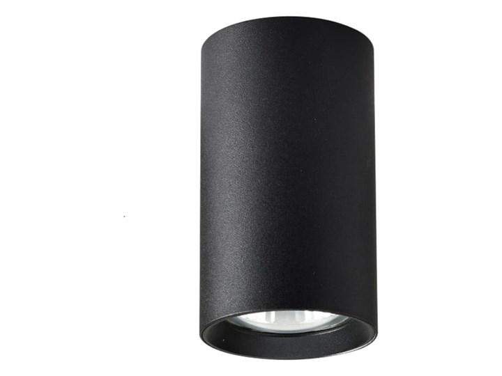 Lampa Manacor oczko czarne 13 cm Oprawa stropowa Kolor Czarny