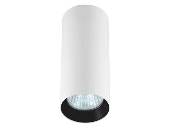 Lampa Manacor oczko białe z czarnym ringiem 17 cm Oprawa biurowa Oprawa stropowa Kolor Biały