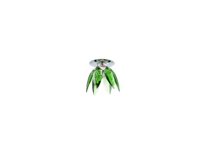 Lampa Merkury oczko zielone Kolor Zielony Oprawa stropowa Oprawa dekoracyjna Kategoria Oprawy oświetleniowe