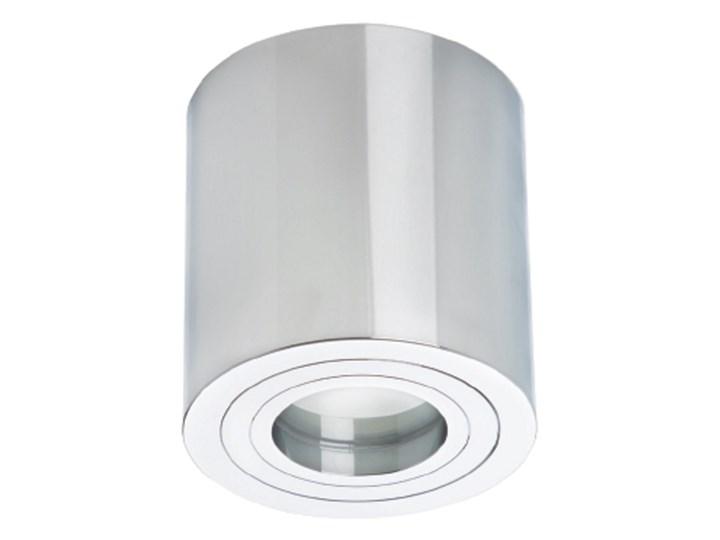 Lampa Faro XL oprawa natynkowa chrom Oprawa stropowa Kategoria Oprawy oświetleniowe Kolor Biały