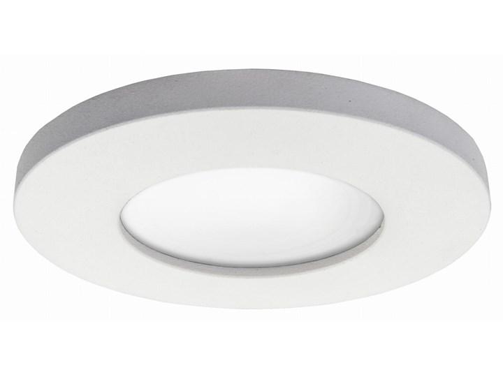 Lampa Lagos oczko podtynkowe okrągłe białe IP65 Oprawa stropowa Kolor Biały