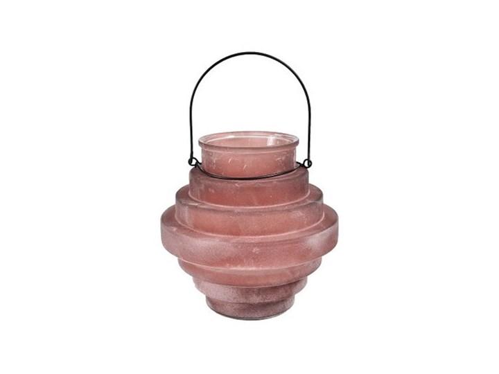 Spring Lampion pudrowy róż Kategoria Świeczniki i świece Kolor Różowy