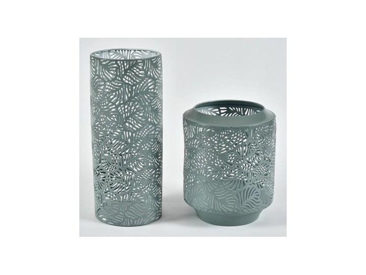 Delia Lampion liście 3 (lewy) Metal Kategoria Świeczniki i świece