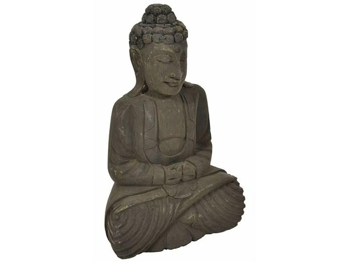 Etno Figurka Budda 3 Drewno Kategoria Figury i rzeźby Kolor Brązowy