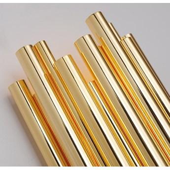 Lampa ścienna TUBO GOLD złota 50 cm