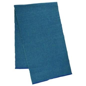 Bieżnik DUKA RAGS 140x40 cm niebieski zielony bawełna