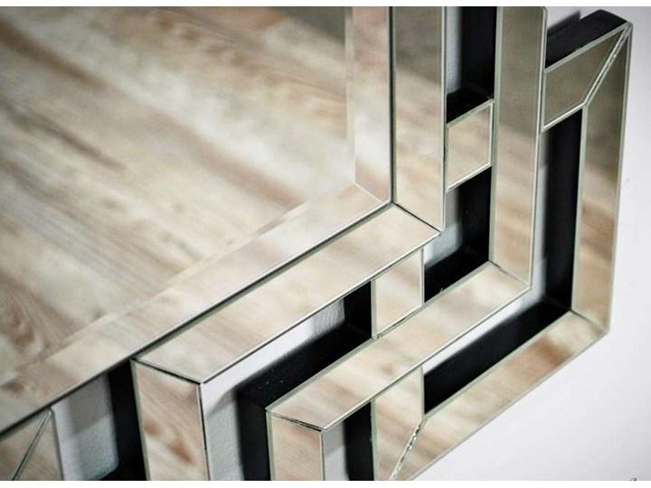 Lustro rama z luster wzór  Grecco Mirror Glamur Prostokątne Lustro bez ramy Ścienne Kategoria Lustra
