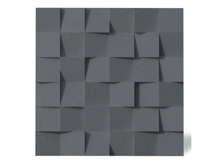 60x60x3 cm VT - PB15  (B8 antracyt) COCO - panel dekor 3D beton architektoniczny Kategoria Panele 3D Kolor Szary