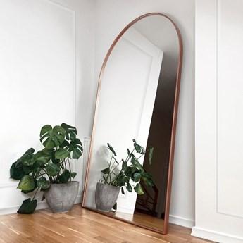 Lustro stojące Portal miedziane z łukiem