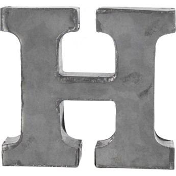 Dekoracja wisząca metalowa H