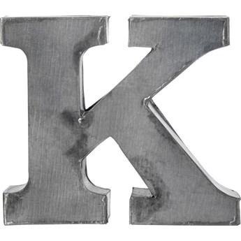 Dekoracja wisząca metalowa K