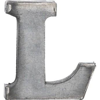 Dekoracja wisząca metalowa L