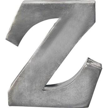 Dekoracja wisząca metalowa Z